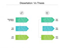 dissertation vs thesis ppt powerpoint presentation model diagrams cpb