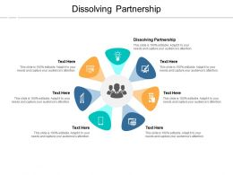 Dissolving Partnership Ppt Powerpoint Presentation Icon Slide Cpb