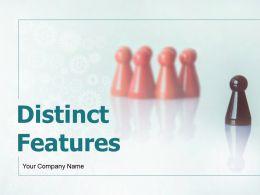 Distinct Features Powerpoint Presentation Slides
