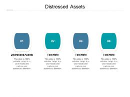 Distressed Assets Ppt Powerpoint Presentation Ideas Samples Cpb