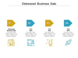 Distressed Business Sale Ppt Powerpoint Presentation Show Skills Cpb