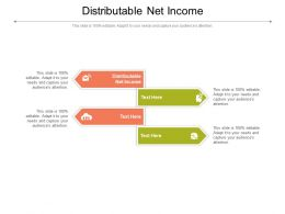 Distributable Net Income Ppt Powerpoint Presentation Model Files Cpb