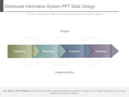 Distributed Information System Ppt Slide Design