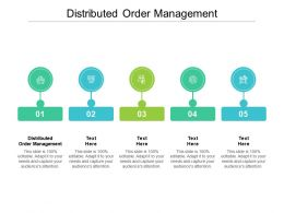 Distributed Order Management Ppt Powerpoint Presentation Model Grid Cpb