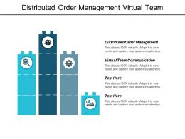 Distributed Order Management Virtual Team Communication Marketing Communication Strategies Cpb