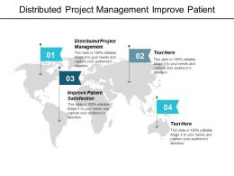 Distributed Project Management Improve Patient Satisfaction Succession Planning Cpb