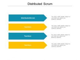 Distributed Scrum Ppt Powerpoint Presentation Slides Graphics Pictures Cpb