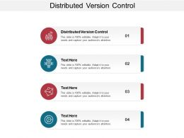 Distributed Version Control Ppt Powerpoint Presentation Summary Graphics Template Cpb