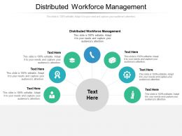 Distributed Workforce Management Ppt Powerpoint Presentation Styles Show Cpb