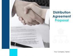 Distribution Agreement Proposal Powerpoint Presentation Slides