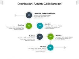 Distribution Assets Collaboration Ppt Powerpoint Presentation Summary Tips Cpb