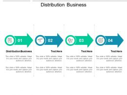 Distribution Business Ppt Powerpoint Presentation Summary Templates Cpb