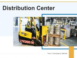 Distribution Center Product Inventory Successful Performing Executive Illustrating