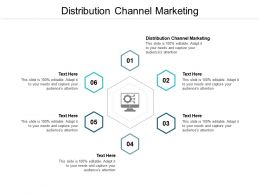 Distribution Channel Marketing Ppt Powerpoint Presentation Icon Rules Cpb