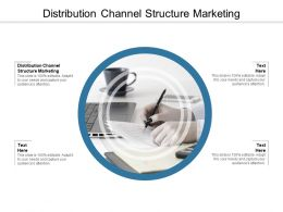 Distribution Channel Structure Marketing Ppt Powerpoint Presentation Ideas Visuals Cpb
