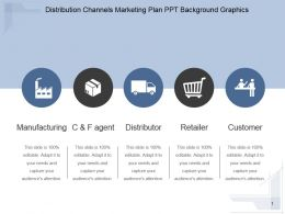 Distribution Channels Marketing Plan Ppt Background Graphics