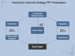 Distribution Channels Strategy Ppt Presentation