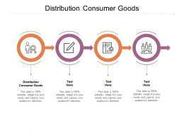 Distribution Consumer Goods Ppt Powerpoint Presentation Styles Designs Cpb