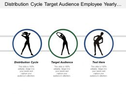 Distribution Cycle Target Audience Employee Yearly Review Template