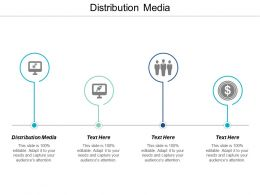 Distribution Media Ppt Powerpoint Presentation Show Inspiration Cpb