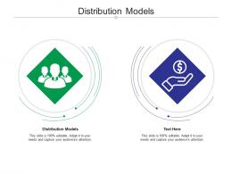 Distribution Models Ppt Powerpoint Presentation Styles Information Cpb