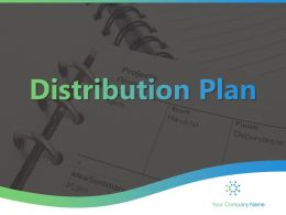 Distribution Plan Powerpoint Presentation Slides