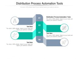 Distribution Process Automation Tools Ppt Powerpoint Presentation File Maker Cpb