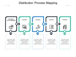Distribution Process Mapping Ppt Powerpoint Presentation Inspiration Good Cpb