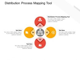Distribution Process Mapping Tool Ppt Powerpoint Presentation Infographics Designs Download Cpb