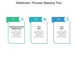 Distribution Process Mapping Tool Ppt Powerpoint Presentation Show Slides Cpb