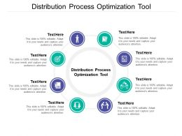 Distribution Process Optimization Tool Ppt Powerpoint Presentation Pictures Show Cpb