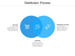Distribution Process Ppt Powerpoint Presentation Portfolio Graphics Cpb