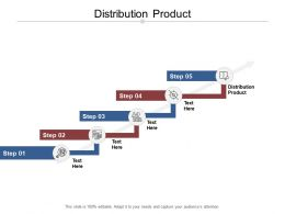 Distribution Product Ppt Powerpoint Presentation Outline Icons Cpb