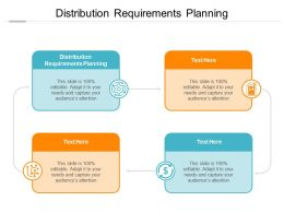 Distribution Requirements Planning Ppt Powerpoint Presentation Icon Layout Cpb