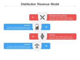 Distribution Revenue Model Ppt Powerpoint Presentation Model Picture Cpb