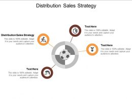 Distribution Sales Strategy Ppt Powerpoint Presentation Gallery Infographics Cpb