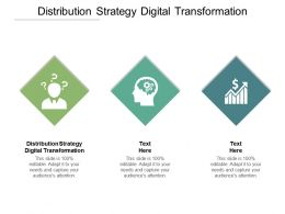 Distribution Strategy Digital Transformation Ppt Powerpoint Presentation Portfolio Outfit Cpb