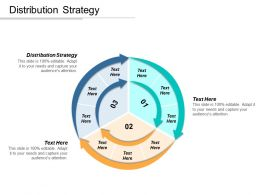 Distribution Strategy Ppt Powerpoint Presentation Gallery Grid Cpb