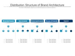 Distribution Structure Of Brand Architecture