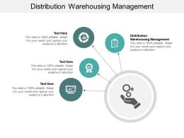 Distribution Warehousing Management Ppt Powerpoint Presentation Inspiration Cpb