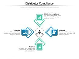 Distributor Compliance Ppt Powerpoint Presentation Ideas Gridlines Cpb