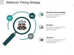 Distributor Pricing Strategy Ppt Powerpoint Presentation Infographics File Formats Cpb