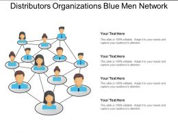 Distributors Organizations Blue Men Network