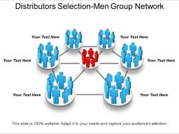 Distributors Selection Men Group Network