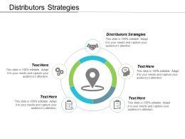Distributors Strategies Ppt Powerpoint Presentation Ideas Format Cpb
