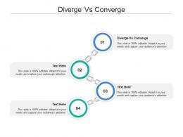 Diverge Vs Converge Ppt Powerpoint Presentation Outline Show Cpb