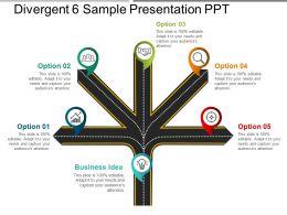Divergent 6 Sample Presentation Ppt