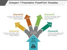 Divergent 7 Presentation PowerPoint Templates
