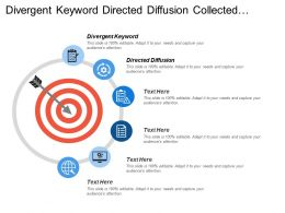 Divergent Keyword Directed Diffusion Collected Information Gradient Interests Reinforcement