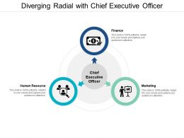 Diverging Radial With Chief Executive Officer